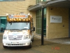 Mr softy Ice Cream van Hire, simply Health Manchester